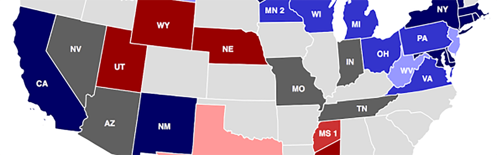 US Party Election Map