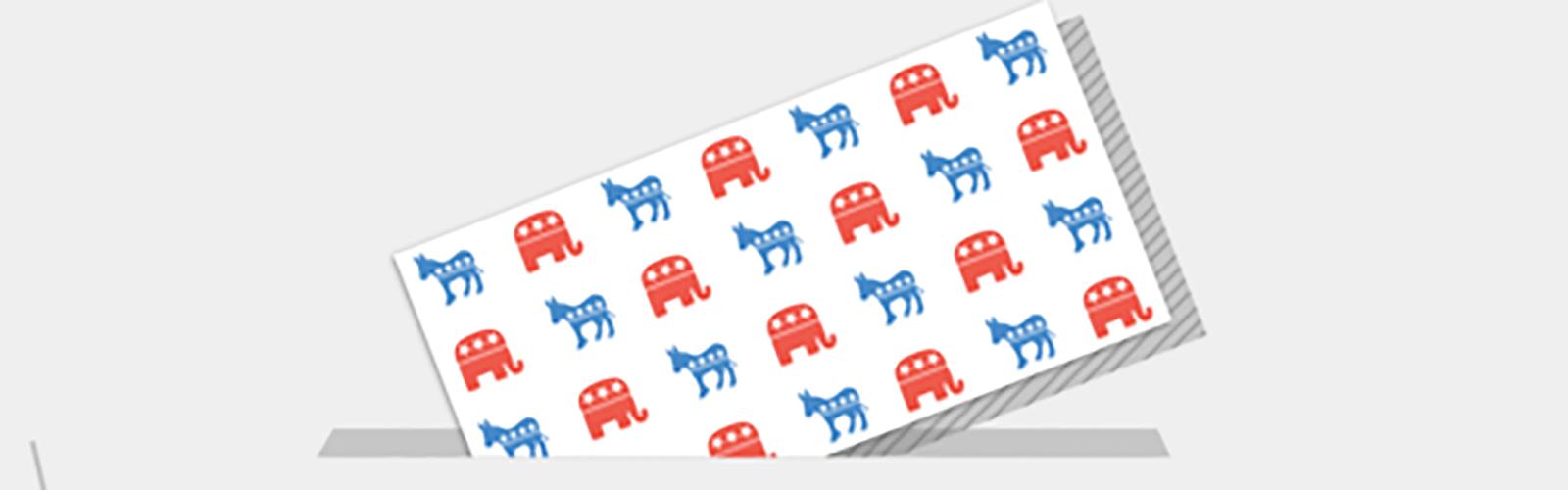 Vote democrat republican