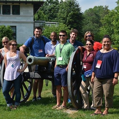 Teachers in Gettysburg