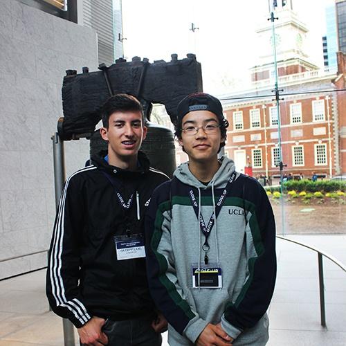 Students at Liberty Bell